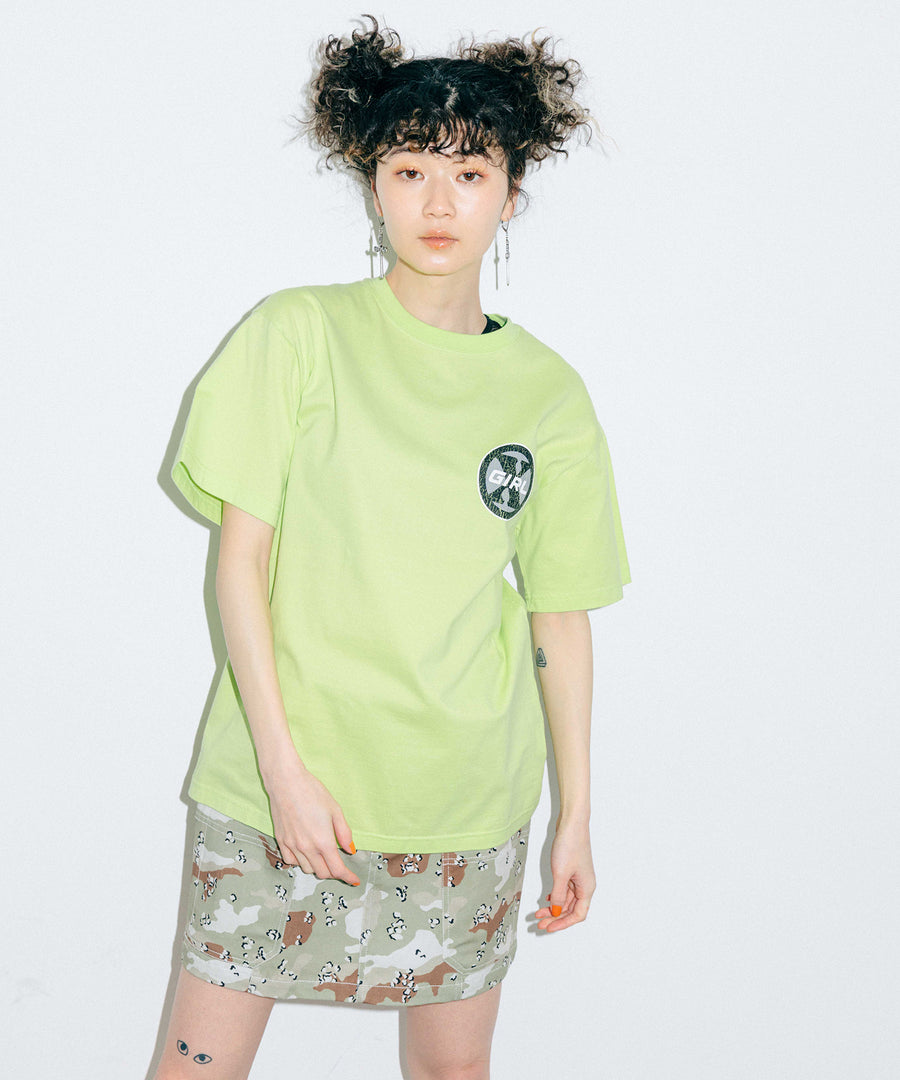 CIRCLE LOGO S/S TEE, T-SHIRTS, X-Girl