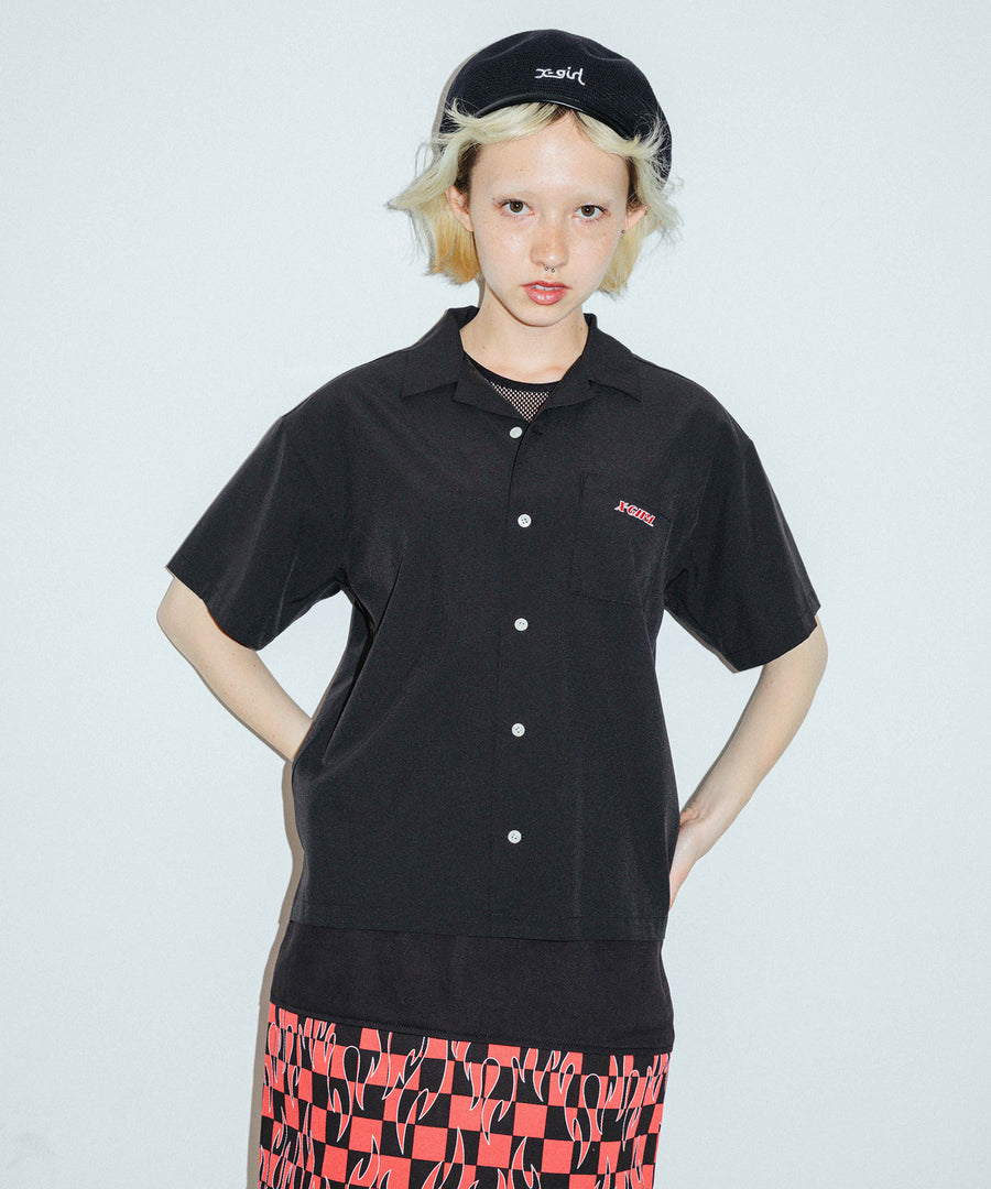 ANGEL FACE S/S SHIRT, SHIRT, X-Girl