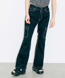 FLARE WORK PANTS, PANTS, X-Girl