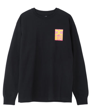 TWISTED BOX LOGO L/S TEE