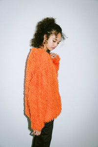 LOOP KNIT CARDIGAN, OUTERWEAR, X-Girl