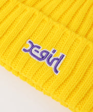 Load image into Gallery viewer, RIB KNIT CAP, HEADWEAR, X-girl