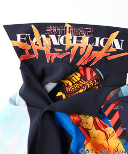 X-girl x EVANGELION OPEN COLLAR SHIRT, SHIRT, X-Girl