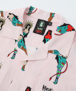 X-girl x KOZIK S/S SHIRT, SHIRTS, X-Girl