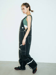 #1 SKATER FLIGHT OVERALLS, OVERALLS, X-Girl
