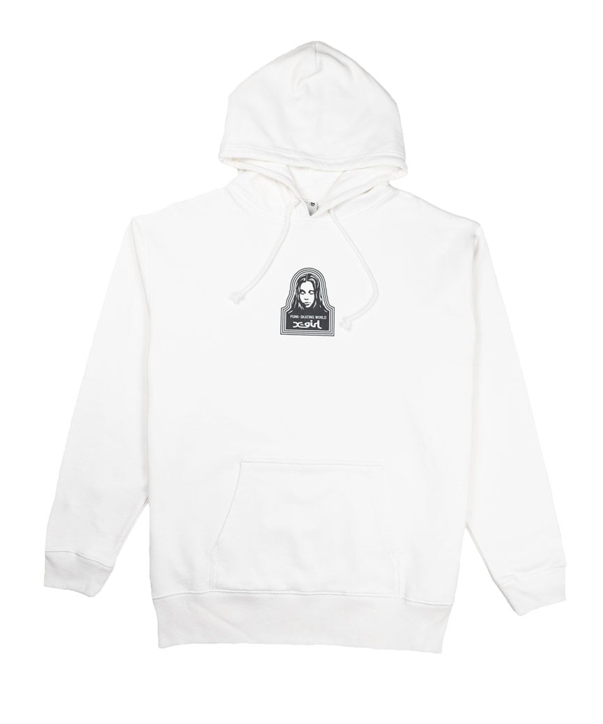 FACE SWEAT HOODIE, SWEATSHIRTS, X-Girl