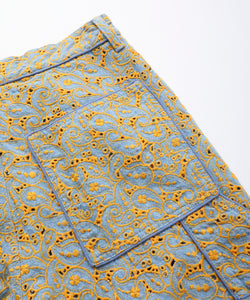 CUTWORK PAINTER PANTS, PANTS, X-Girl