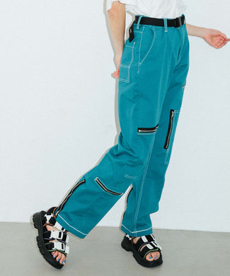 #1 SKATER FLIGHT PANTS, PANTS, X-Girl
