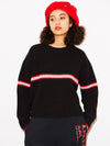 LINE KNIT TOP, HOODIES & SWEATERS, X-Girl