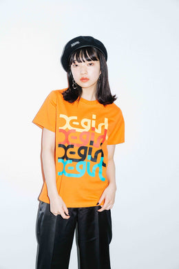 COLORFUL MILLS LOGO S/S REGULAR TEE, T-SHIRTS, X-Girl