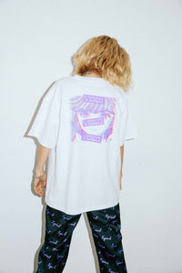 X-girl x VIDEO GIRL NOISE S/S MENS TEE, T-SHIRT, X-Girl