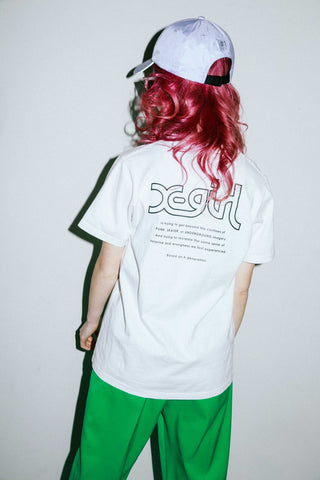 X-girl WORDS S/S REGULAR TEE - X-Girl