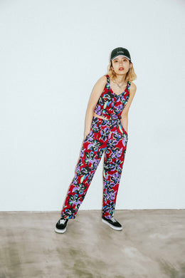 #1 ROMEO FLOWER TUCK PANTS, PANTS, X-Girl
