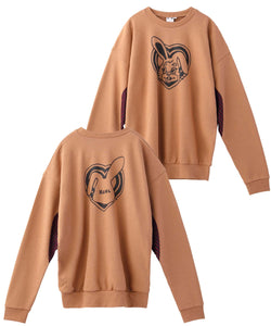 BUZZED BUNNY L/S SWEAT TOP, HOODIES & SWEATERS, X-Girl