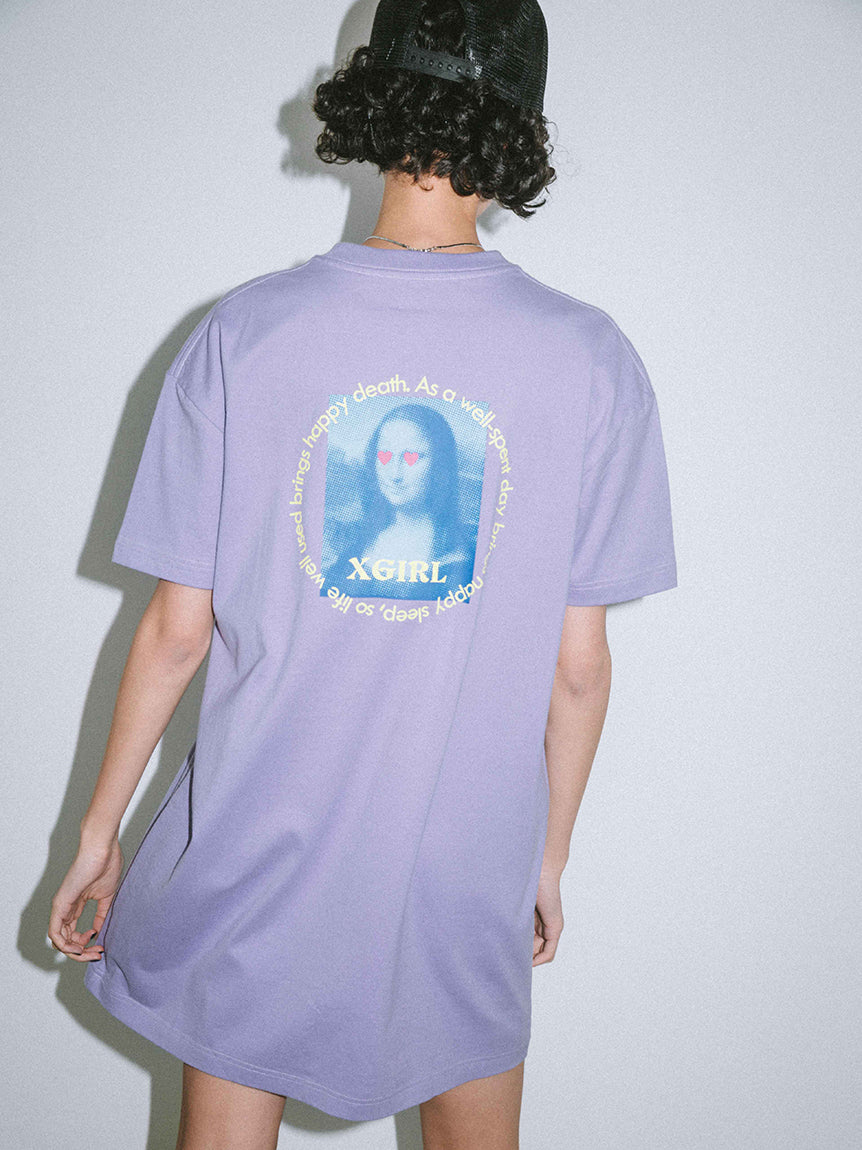 MONA LISA S/S TEE DRESS, DRESSES, X-Girl
