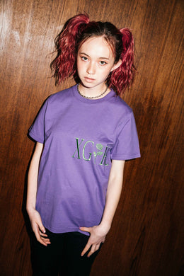 ROSE LOGO S/S REGULAR TEE, T-SHIRT, X-Girl