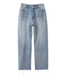 HIGH WAISTED BOYS DENIM, PANTS, X-Girl