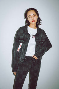 X-girl x NONA9ON DENIM JACKET, OUTERWEAR, X-Girl