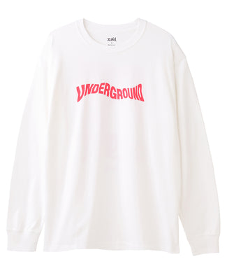 DISTORTED LOGO L/S TEE