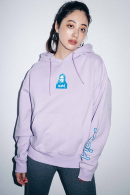 FACE SWEAT HOODIE, HOODIES & SWEATERS, X-Girl