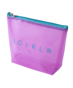 CLEAR POUCH, ACCESSORIES, X-Girl