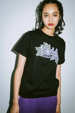 X-girl x NONA9ON S/S REGULAR TEE, T-SHIRT, X-Girl