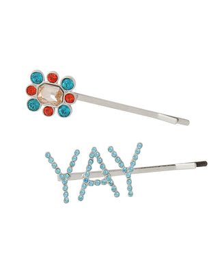 BIJOU HAIR PIN SET, ACCESSORIES, X-Girl