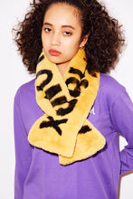 Load image into Gallery viewer, LOGO FUR STOLE, ACCESSORIES, X-Girl