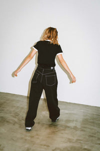 WIDE TAPERED PANTS, PANTS, X-Girl