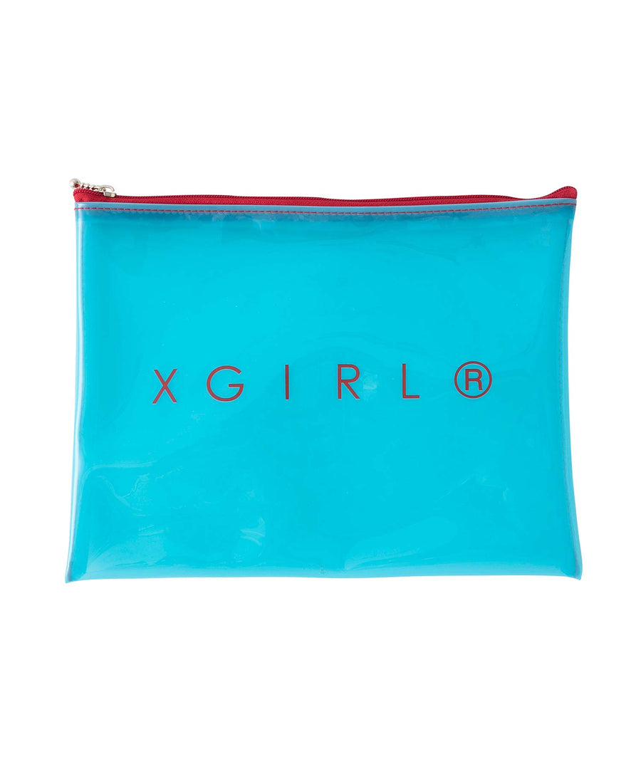 CLEAR FLAT POUCH, ACCESSORIES, X-Girl