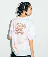 Load image into Gallery viewer, BURGER SHOP TIE-DYE S/S MENS TEE, T-SHIRT, X-Girl