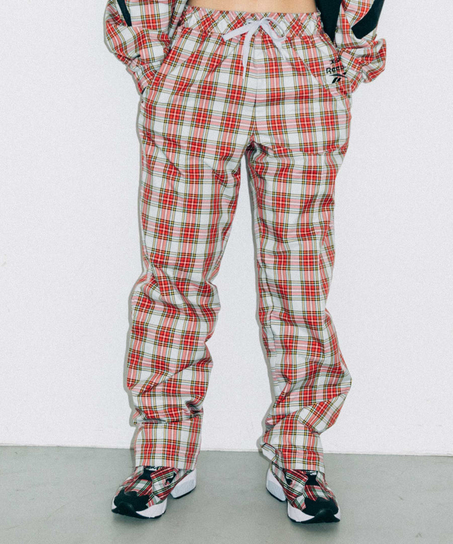 X-girl × Reebok PLAID PANTS
