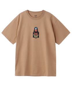 GRADATION FACE S/S TEE, T-SHIRT, X-Girl