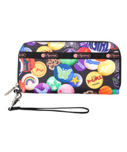 Load image into Gallery viewer, X-girl × LeSportsac TECH WALLET WRISTLET