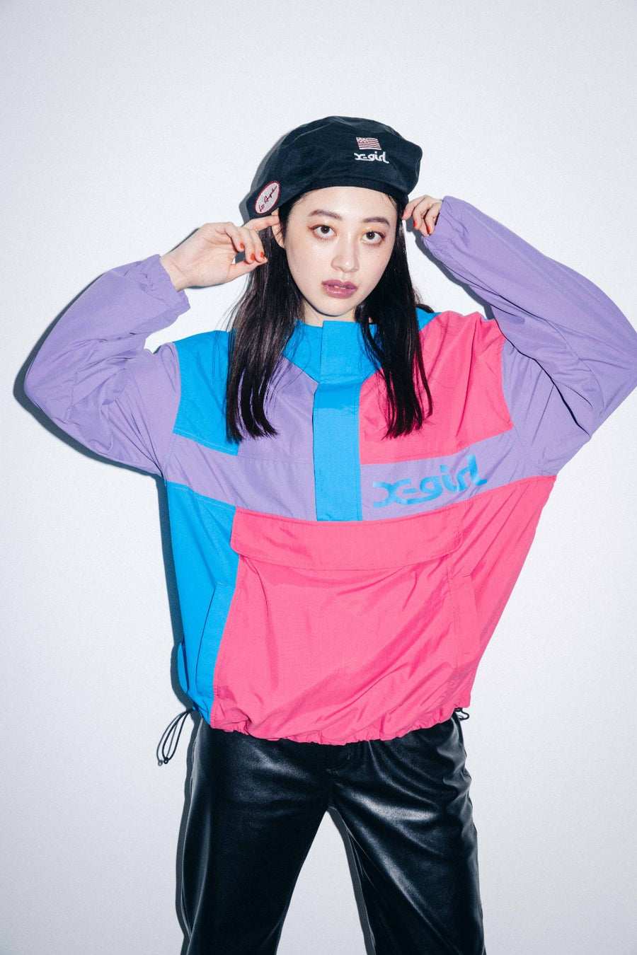 CRAZY COLOR ANORAK, OUTERWEAR, X-Girl