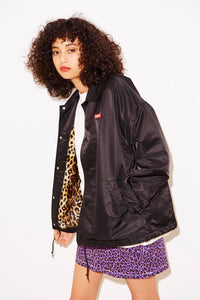 BOX LOGO COACH JACKET - X-girl