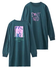 Load image into Gallery viewer, RIOT GRRRL L/S TEE DRESS, DRESS, X-Girl