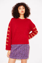 Load image into Gallery viewer, LAMB WOOL KNIT TOP, HOODIES & SWEATERS, X-Girl