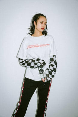 X-girl x NONA9ON LAYERED LOOK TEE - X-girl