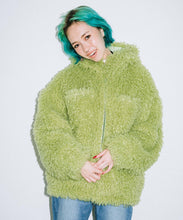 Load image into Gallery viewer, CURLY FUR COAT, OUTERWEAR, X-Girl