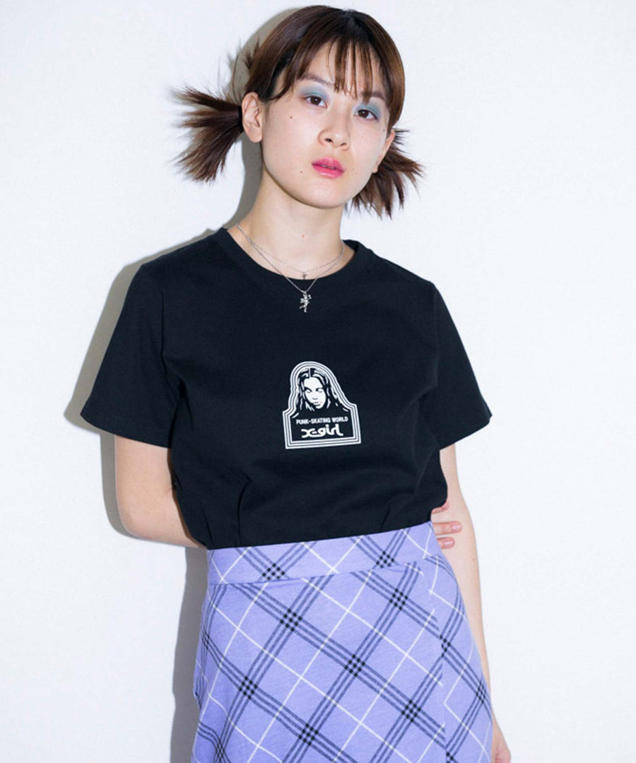 FACE S/S REGULAR TEE, T-SHIRTS, X-Girl
