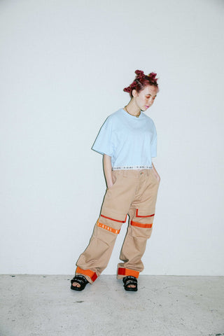 ADJUSTABLE STRAP CARGO PANTS - X-Girl