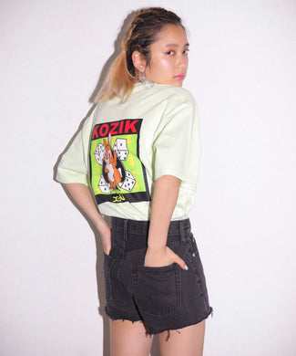 X-girl x KOZIK BUNNY S/S MENS TEE, T-SHIRT, X-Girl