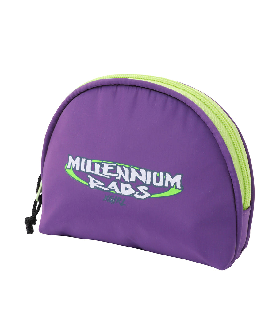 MILLENNIUM RADS ROUND POUCH, ACCESSORIES, X-Girl