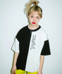 COLOR BLOCK S/S TEE, T-SHIRTS, X-Girl