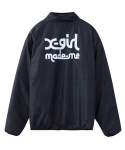 X-girl x MADE ME REVERSIBLE FLEECE JACKET, OUTERWEAR, X-Girl