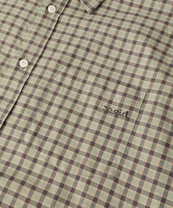 3/4 SLEEVE PLAID SHIRT, SHIRT, X-Girl