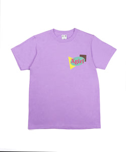 PLANE SHAPES LOGO S/S TEE, T-SHIRT, X-Girl