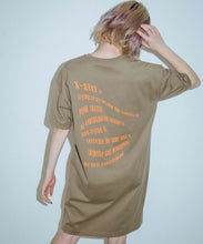 Load image into Gallery viewer, WINDING WORDS S/S TEE DRESS, DRESS, X-Girl
