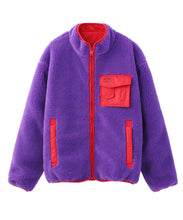 Load image into Gallery viewer, X-girl x MADE ME REVERSIBLE FLEECE JACKET, OUTERWEAR, X-Girl